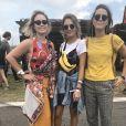 No Lollapalooza 2018, olha esse trio arrasador!