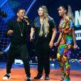 """Anitta, Marília Mendonça e Nego do Borel cantam uma música inédita, chamada """"Pode Parar"""", no Multishow"""