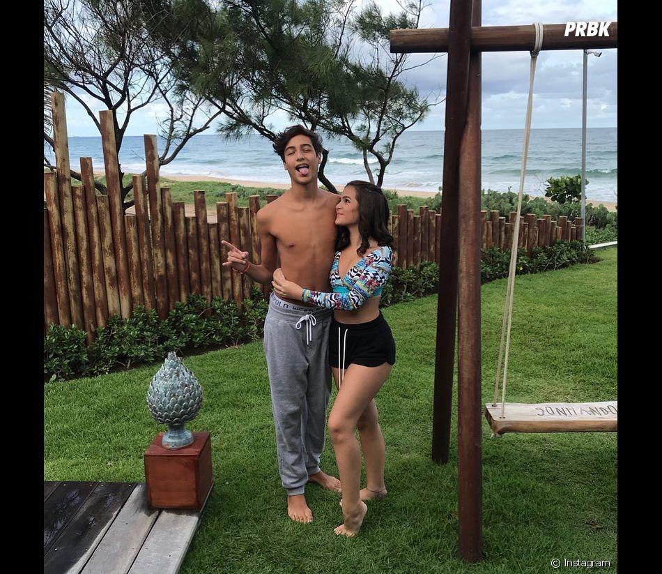 Segundo Mel Maia, as pessoas ainda ficam surpresas com seu namoro com Erick Andreas