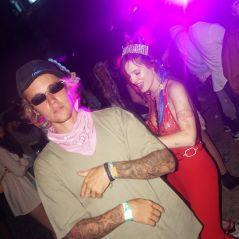 """Justin Bieber e Bella Thorne curtem Coachella juntos e fãs comemoram: """"Lindos demais"""""""