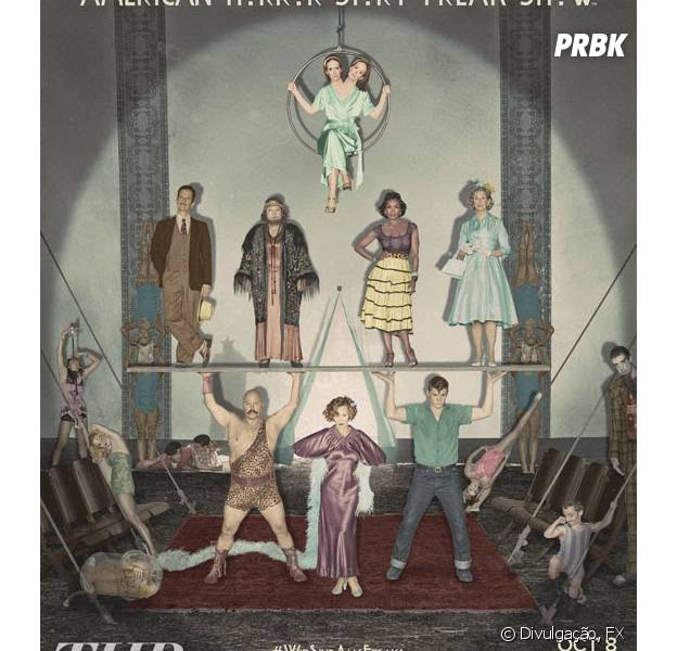 "Confira os personagens de ""American Horror Story: Freakshow""!"