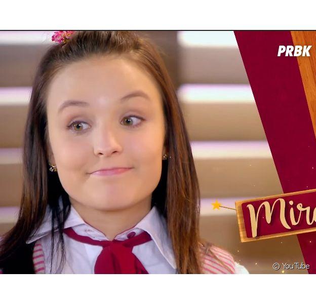 """De """"As Aventuras de Poliana"""": Larissa Manoela é Mirella, uma jovem que sonha em se tornar popular"""