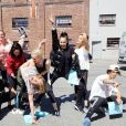 """Sofia Carson, Dove Cameron e todo o elenco de """"Descendentes 3"""" está ensaiando para o filme em Vancouver, no Canadá"""