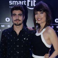 """Caio Castro comenta novo trabalho com Maria Casadevall: """"Deu um conforto"""""""