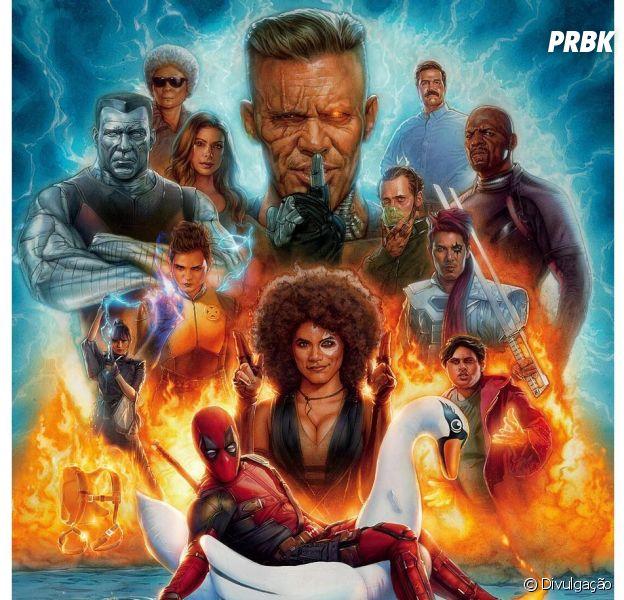 "De ""Deadpool 2"", conheça o Cable e os membros da X-Force"