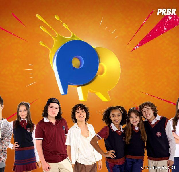 """Com João Guilherme, elenco de """"As Aventuras de Poliana"""" se enfrenta no """"Passa ou Repassa"""", do """"Domingo Legal"""""""