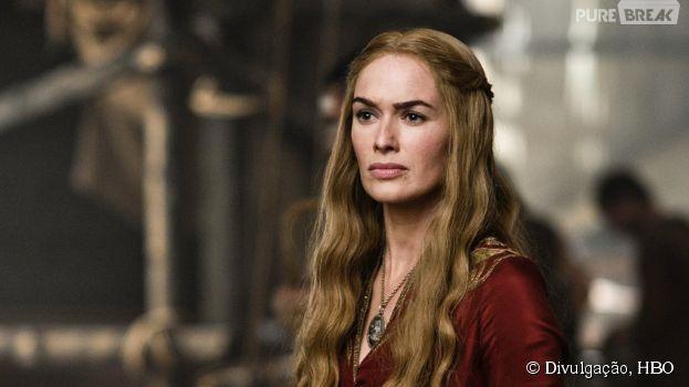 "Cersei (Lena Headey) finalmente vai pagar peitinho, na quinta temporada de ""Game of Thrones"""