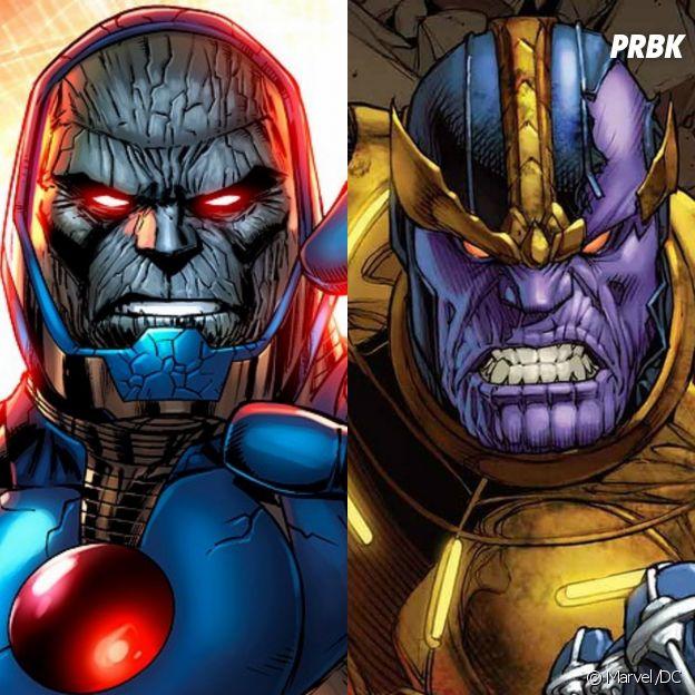 Thanos e Darkseid são beeem parecidos