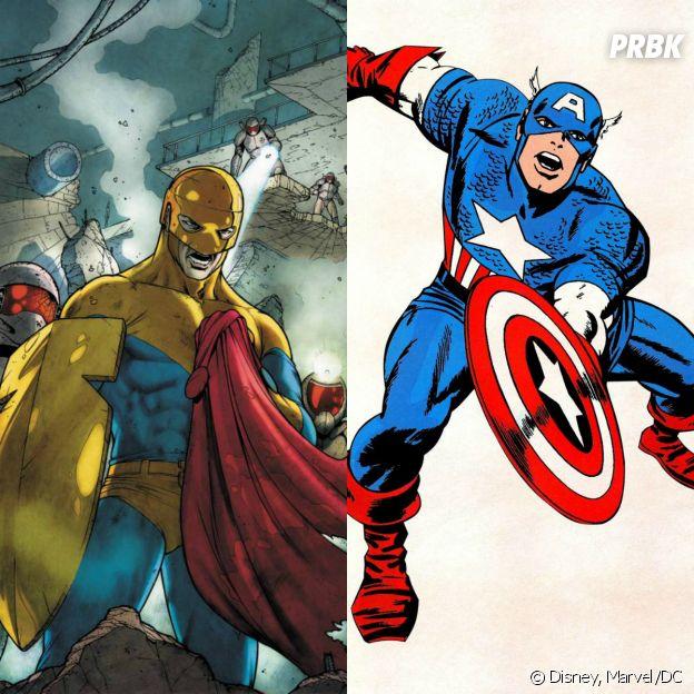 O Guardião e o Capitão América foram criados pelos mesmos quadrinistas!