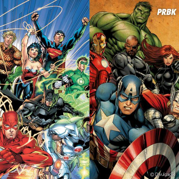 Liga da Justiça e Vingadores: essa é a uma das maiores disputas entre os fãs