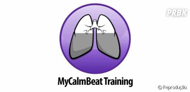 """O aplicativo """"MyCalmBeat"""" analisa sua respiração e te auxilia a ficar tranquilo"""
