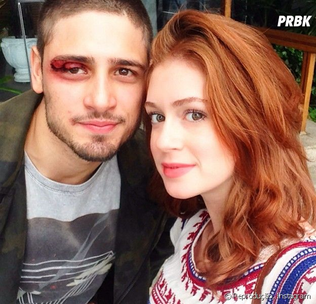 """João Lucas (Daniel Rocha) e Maria Isis (Marina Ruy Barbosa) vão se beijar em """"Império""""!"""