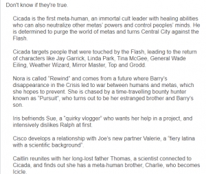 """De 'The Flash"""", detalhes da 5ª temporada são publicados pelo Reddit"""