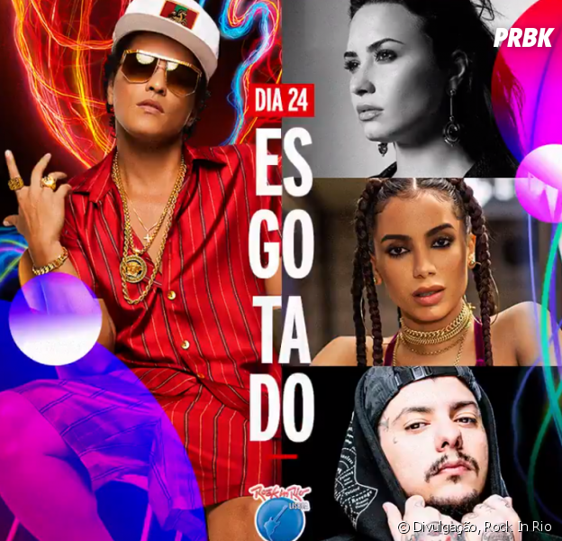 Anitta, Demi Lovato e Bruno Mars brilham no Rock In Rio Lisboa
