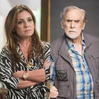 """Novela """"Segundo Sol"""": segredo de Laureta (Adriana Esteves) e Nestor (Francisco Cuoco) é revelado"""