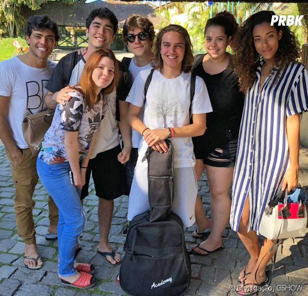 """O elenco de """"Malhação - Vidas brasileiras"""" fez uma trip maravilhosa!"""