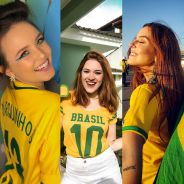 Larissa Manoela, Ana Clara, Giovanna Lancelloti e mais famosas com seus looks para a Copa!