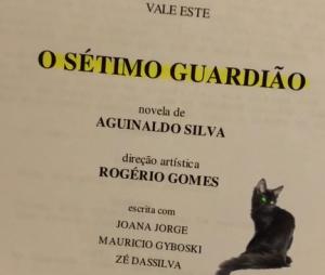 """Marina Ruy Barbosa publica imagem do primeiro capítulo de """"O Sétimo Guardião"""""""