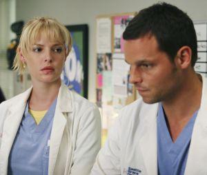"""De """"Grey's Anatomy"""", intérprete de Izzie, Katherine Heigl, diz qual seria a reação da sua antiga personagem sobre o casamento de Alex (Justin Chambers) e Jo (Camilla Luddington)"""