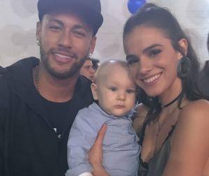 Veja fotos de Neymar e Bruna Marquezine na festa de aniversário de 7 anos do pequeno Davi Lucca