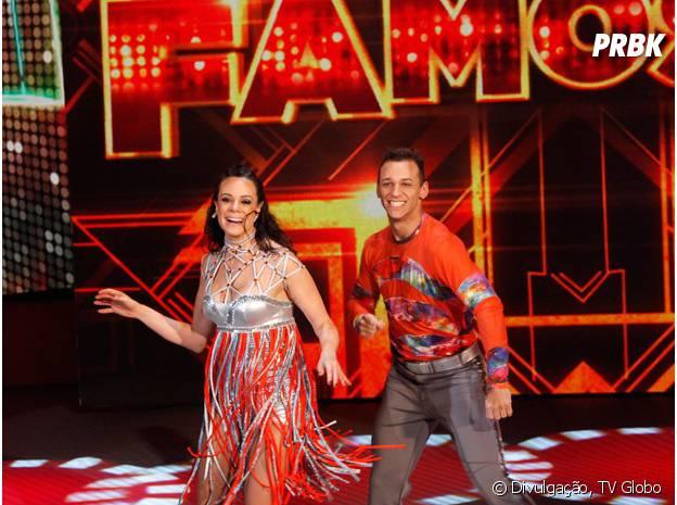 """Vanessa Gerbelli foi para a repescagem na """"Dança dos Famosos 2014"""""""