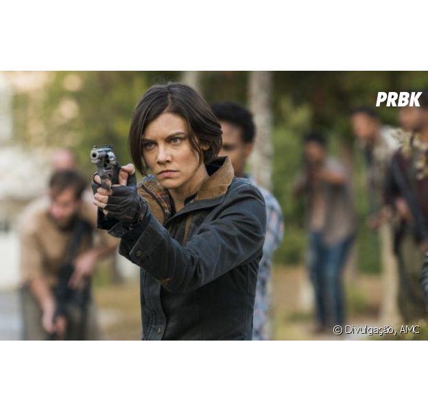 """Lauren Cohan, de """"The Walking Dead"""", fala sobre seu relacionamento com a série"""