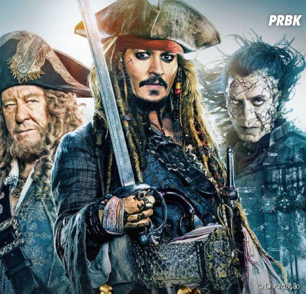 """Filme """"Piratas do Caribe 6"""" é confirmado e já está está sendo produzido"""