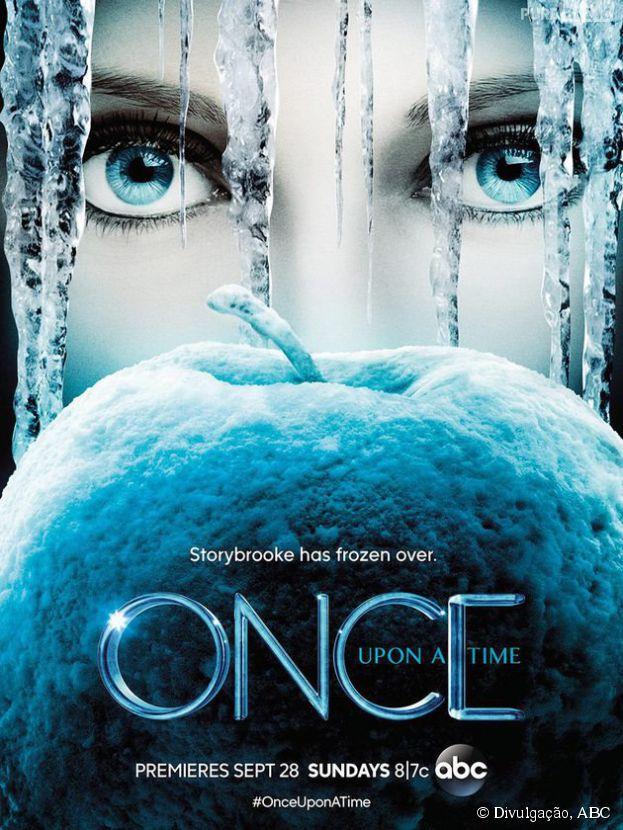 """Novo pôster da quarta temporada de """"Once Upon a Time"""" traz Elsa (Georgina Haig) no centro das atenções"""