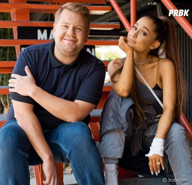 "No ""Carpool Karaoke"", Ariana Grande canta músicas do álbum ""Sweetener"""