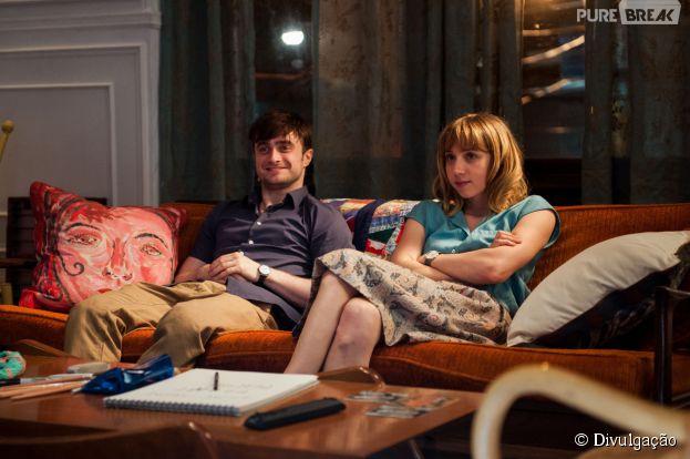 """Daniel RadcliffeeZoe Kazan estão no elenco do filme""""Será Que?"""""""