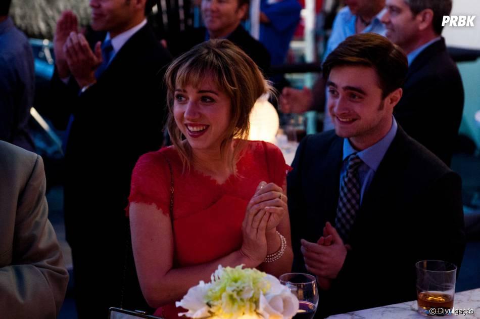 """Daniel RadcliffeeZoe Kazan estão no filme""""Será Que?"""""""