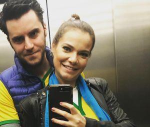 Marido de Milena Toscano anuncia nascimento de seu primeiro filho