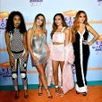 "Little Mix aparece cantando trecho de ""Woman Like Me"", single do quinto álbum da banda"