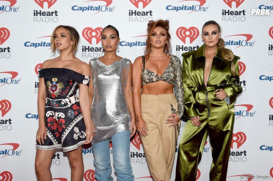 "Little Mix canta no estilo acapella nova música do quinto álbum da banda, ""Woman Like Me"""