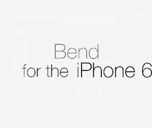Nova ferramente do iPhone 6: Dobrar!