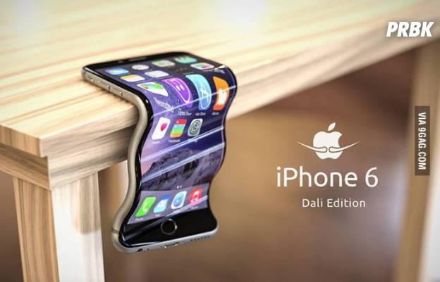 inspirado na arte de Dali, veja este iPhone 6 cheio de curvas