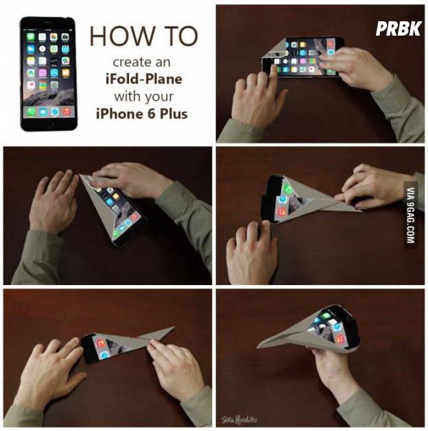Tão fino e tão fácil de dobrar que dá vontade de fazer origami com o iPhone 6 Plus