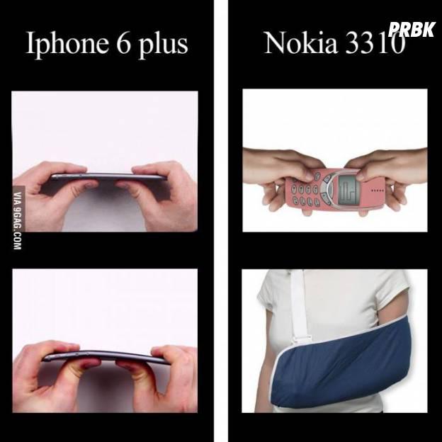 Não é justo com o iPhone 6 Plus competir com o Nokia 3310