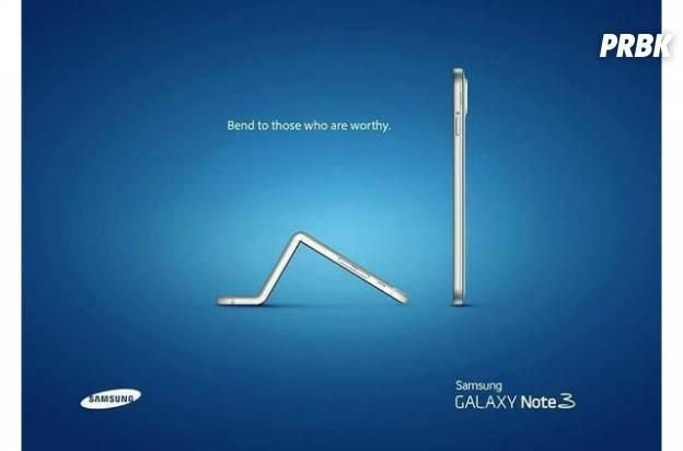 Samsung não ia perder a oportunidade de zoar o iPhone 6 Plus da Apple