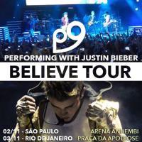 P9 é convidado para abrir shows de Justin Bieber no Brasil!