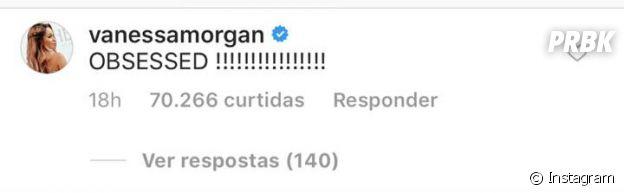 """Vanessa Morgan, a Toni Topaz em """"Riverdale"""", também mostrou seu apoio ao novo casal!"""