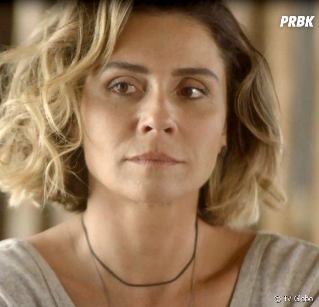 """Em """"Segundo Sol"""": Luzia (Giovanna Antonelli) é condenada a prisão depois de mais um plano de Laureta (Adriana Esteves)"""