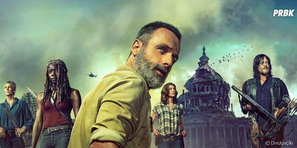 """Em """"The Walking Dead"""", possível chegada de um filho de Michonne (Danai Gurira) e Rick (Andrew Lincoln) deve deixar série ainda mais dramática"""