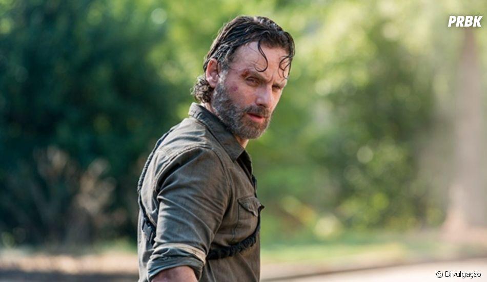 """Em """"The Walking Dead"""", ainda não se sabe o desfecho de Rick (Andrew Lincoln)"""