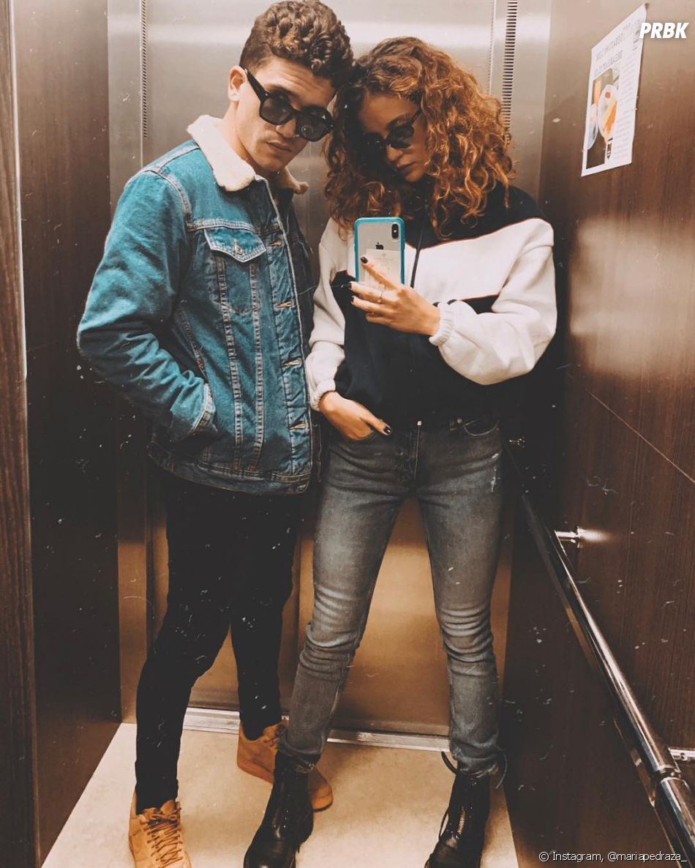 "De ""Elite"", Maria Pedraza e Jaime Lorente podem estar namorando e fotos deles aos beijos deixa boato mais forte"
