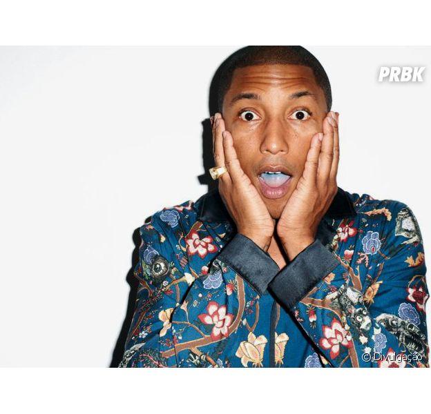 """Pharrel Williams aposta em baladinha psicodélica após estourar com o hit """"Happy"""""""