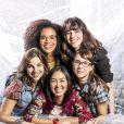 """Daphne Bozaski, Ana Hikari, Manuela Aliperti, Hesleine Vieira e Gabriela Medvedovski, as protagonistas de """"Malhação - Viva a Diferença"""", voltam para a TV em 2019"""