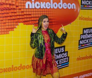 No Meus Prêmios Nick 2018: Maisa Silva não escapou do banho de slime!