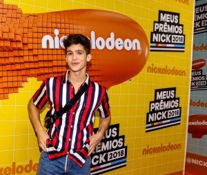 No Meus Prêmios Nick 2018: João Guilherme fez uma participação especial no evento