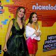 No Meus Prêmios Nick 2018: Larissa Manoela e Ingrid Guimarães tomaram banho de slime também!